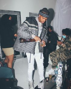 Dior Sneakers, Lil Baby, Black Boys, Jordan 1 Retro High, Puffer Jackets, Tequila, Streetwear, Mens Fashion, Club