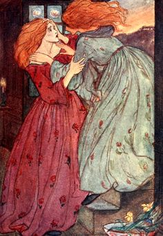'Poems by Christina Rossetti' illustrated by Florence Harrison. Published 1910 by Blackie & Son Limited.