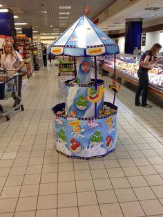 Śmiejżelki point of purchase pos display: