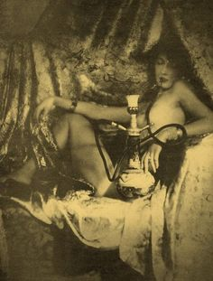 hookah / Smoking Opium in San Fransisco Area in Chinese Opium Dens became all the rage. Laws were then set which were less anti-Opium, but more anti-Chinese.