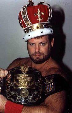 """AWA World Champion Jerry """"The King"""" Lawler"""
