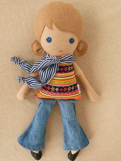 Ideas para hacer muñecas de fieltro y tela (1)