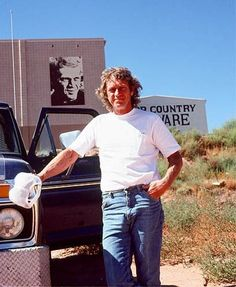 Steve McQueen, 1978    Photo by Barbara McQueen