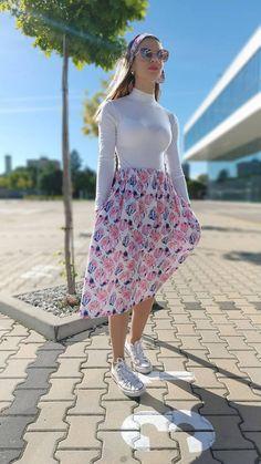 Riasená sukňa Isabela s vreckami / ajkadizajn - SAShE.sk