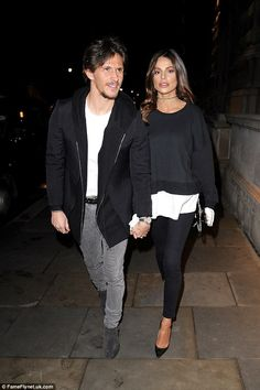 Chloe who? Jake Hall looked worlds away from the thought of a certain Chloe Lewis as he put on an adoring display with his new love Missé Beqiri in London on Wednesday - just hours after his gushing professions of love on Valentine's Day hours before
