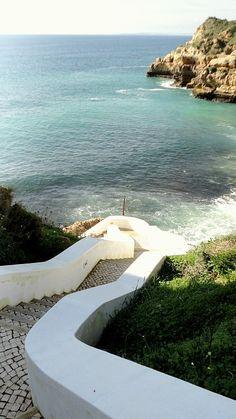 Paraíso Beach, Carvoeiro, Algarve, Portugal #Portugal