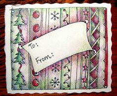 LeeAnn's Zentangle-ing Fun - Christmas Gallery