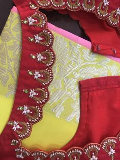 New Saree Blouse Designs, Saree Jacket Designs, Simple Blouse Designs, Stylish Blouse Design, Bridal Blouse Designs, Maggam Work Designs, Hand Work Blouse Design, Embroidery Suits Design, Designer Blouse Patterns