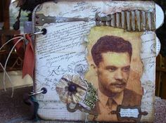 Album for an actor by Merika English Shop, More Pictures, Altered Art, Mini Albums, Techno, Scrap, Marvel, Crafty, Blog