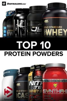 Discover the BodyBuilding.com Top 10 Rated Proteins today. Free Shipping on all orders over $49.