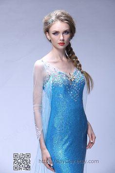 Elsa Costume adult Frozen Costume disney princess costumes frozen birthday clothing on Etsy, $139.00