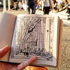 Moleskine, I Do Love You, Drawing, Alter, Inspire Me, Sketches, Illustration, Projects, City Life