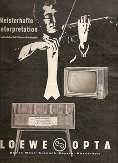 1961 Brigitte, H.17, Loewe TV and Radio   by diepuppenstubensammlerin