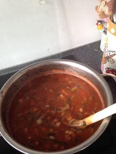 Italiaanse tomatensoep!