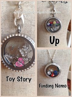 "Disney Pixar-inspired Origami Owl - Origami Owl Living Lockets! Personalize yours today! ORDER BY CLICKING ON PHOTO 1) Click ""Sign in to My Account"" 2) Create Account 3) Happy Shopping! Designer #53903 JOIN MY TEAM! Host a party :-) Join the fun! PavlesCharms@aol.com"