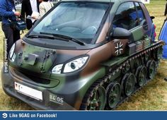 angry car.. or tank..