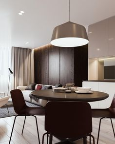 """Beautiful apartment in Minsk, Belarus with dark woods + pales.  Is there such a thing as """"brown scale""""?"""
