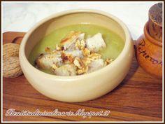 Ricetta Vellutata di finocchi e verza con pane e noci, da Shion80 - Petitchef