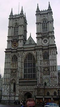Westminster Abbey, England  (begun 1245 AD) Gotic architecture