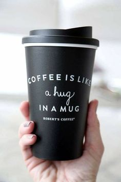 Coffee...A Hug In A Mug ;)☕
