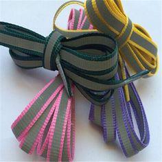 1 Pair New Luminous Shoelace Fluorescent Color Glowing Shoelace cordones zapatilla Shoe Laces For Canvas Sport Shoes ASL683A