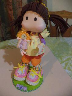 fun foam little girl doll...just adorable...photo