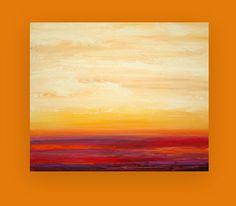 Abstract Acrylic Painting Original Art Titled by OraBirenbaumArt, $345.00