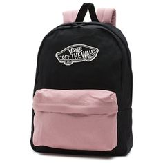 Simple style doesn't stop with your clothing. The Realm zephyr and black backpack brings a color blocked pastel style to every look. With 2 storage compartments, this backpack is finished with the comfort of a padded center back panel and adjustable shoul Vans Backpack, Black Backpack, Backpack Bags, Fashion Backpack, Pastel Backpack, Cute Backpacks For School, Cute Mini Backpacks, Girl Backpacks, Mochila Jansport