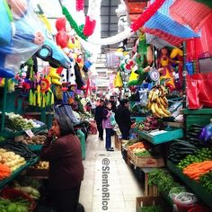 mexican market, notice the colors...