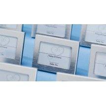 "2.5"" x 3.5"" SILVER Bridal Favor Photo/Placecard Frames (Box of 24) $23.98"