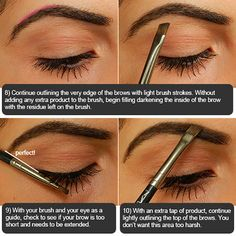 How to fill in your eyebrows perfect eyebrow tutorial