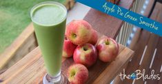 Packed with healthy ingredients, this Thermomix green smoothie makes for an awesome start to the day. Green Smoothie Recipes, Green Smoothies, Non Alcoholic, No Cook Meals, Apple Pie, Whole Food Recipes, Fruit, Juices, Caravan
