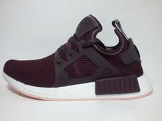 5def672f9 women adidas NMD XR1 W By9820 size 8 dark burgundy Vapour Pink White