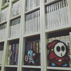 By nomadsushi: Shelfie #videogames #retrogames  #gamecollection #videogamecollection  #retrocollectiveeurope #retrocollectivespain #geekunion #retrogaming #gameroom #gamer #retrogaming #microhobbit