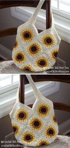 Sweet Summer Sunflower Bag  Crocheters are always on the hunt for new ideas and fashion trends, right? If you are looking for something that will spice up your summer outfits, you've landed in the right corner of the Internet today.  #sunflower #sunflowercraft #sunflowerdecor #summerdiy #crafttutorials Sunflower Crafts, Crochet Sunflower, Summer Diy, Craft Tutorials, Spice Things Up, Sewing Patterns, Crochet Necklace, Summer Outfits, Crochet Hats