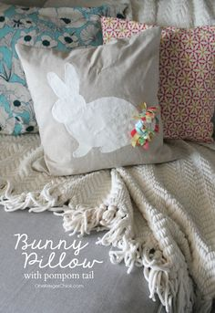 Sweet Bunny Pillow w