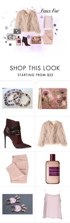 """""""Faux Fur"""" by aquadecorator ❤ liked on Polyvore featuring Sam Edelman, Balmain, Atelier Cologne and Gran Sasso"""