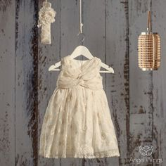 Βαπτιστικό Εκρού Φόρεμα Martini | Angel Wings 056 Girls Dresses, Flower Girl Dresses, Christening, Girl Outfits, Princess, Wedding Dresses, Clothes, Beautiful, Board