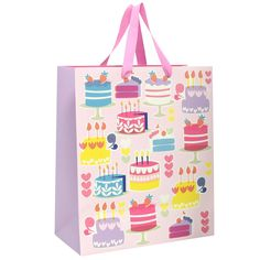 large cakes gift bag from Paperchase
