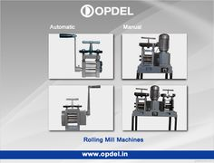 # Rolling Mill Machinery  Rolling mill is used for finishing gold and silver plates. Roll cage Oversized will bear more the maximum load. Rollers are cooled by a water circulation system.  Find detailed specification http://www.opdel.in/rolling-mill.php about #RollingMill