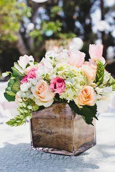 Ideas para una boda rústica romántica   El Blog de una Novia