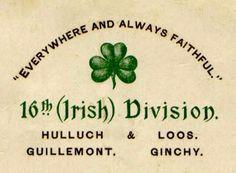 Irish Division, Lest We Forget Royal Horse Artillery, Military Uniforms, Vintage Labels, Rifles, World War Two, Badges, Division, Respect, Ireland