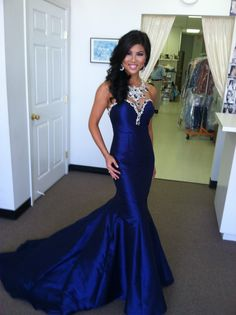 Drop Dead Gorgeous!  Perfect gown worn by Christine Tang, 1st Runner Up at Miss Texas 2013/ Miss America Org.