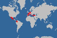 Douwe Osinga's Projects: Visited Countries