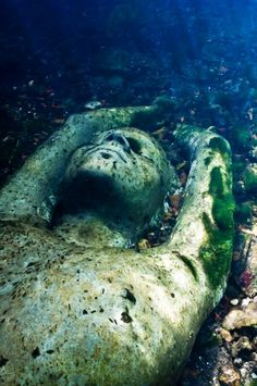 Inland Waters - Underwater Sculpture by Jason deCaires Taylor
