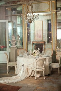 [ French Dining Parisian Chic Panda House Country Room Design Ideas ] - Best Free Home Design Idea & Inspiration Decor, French Decor, House Design, Shabby Chic, Room, Purple Home, Interior, Home, Interior Design