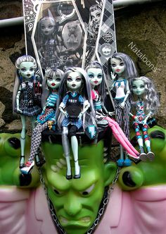 monster high frankie stein  dawn of the dance | The Many Facets of Frankie Stein