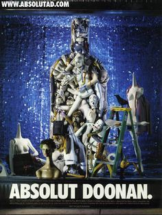 Absolut Bottle, Doonan Simon, Absolut Ly Advertising, Absolut Vodka, Absolutely Brillant, Absolutely Absolut, Vodka Ads, Absolut Doonan, Absolut Art