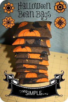 Halloween Bean Bags!!!