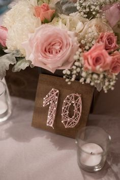 15 Ornate Wedding Frames Table Numbers Victorian Shabby Vintage Wedding You Pick Color or PInk